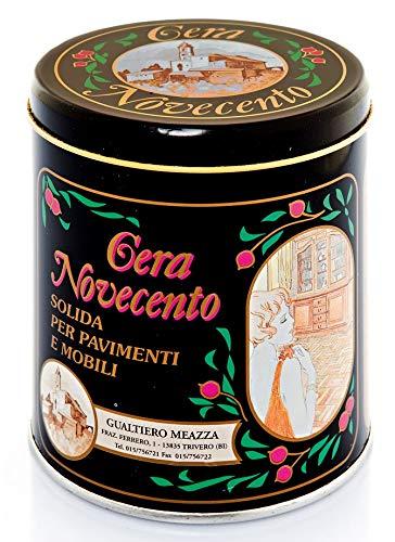 Cera Novecento Y944 Cera Solida in Pasta, Noce Scuro, 1 litro