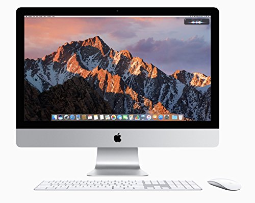 "Apple iMac / 21,5"" / Intel Core i5, 2.7 GHz / 4 core / RAM 8GB / 1000GB HDD/ ME086LL/A / teclado español (Reacondicionado)"