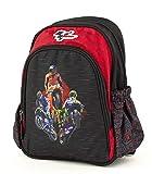 MotoGP Schulrucksack/Backpack mit 2 Reißverschlussfächern 18MGP-903-RD Zaino, 35 cm, Multicolore (Red, Black)