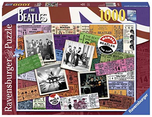 Ravensburger The Puzzle Biglietti Beatles 1000Pezzi, 19751