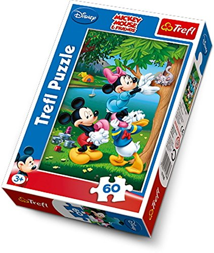Trefl- Puzzle Disney Picnic with Donald, TRF17198