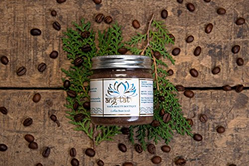 Ang-Tatva 100% Pure & Natural Coffee Bean Face and Body Scrub - For All Skin Type - 75g 4