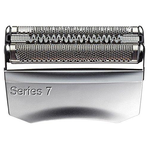 Braun 70S - Recambio para afeitadora eléctrica, compatible con afeitadoras Series 7, color plata