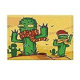 Divertida Alfombra Cactus En El Desierto Para Cuarto Niños