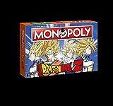 MONOPOLY Dragonball Z Edition für Fans! Die Saga rund um Son Goku, Trunks, Vegeta und Son Gohan!   Brettspielklassiker trifft auf DBZ