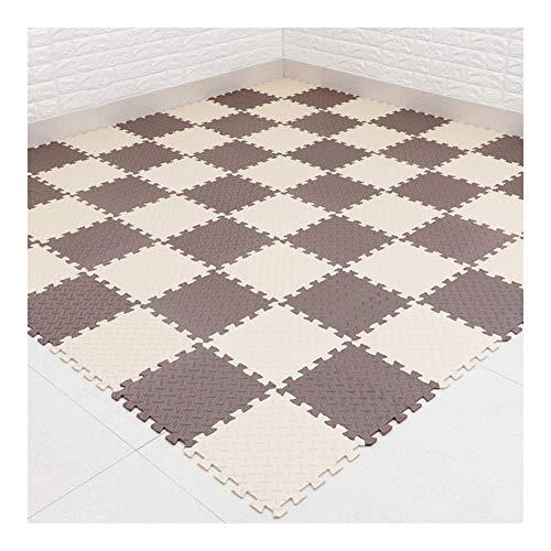 WAJIEFD-Tappeto Puzzle Materassino Ginnico Piastrelle Incastro Pavimento Baby Crawling Home Decor...