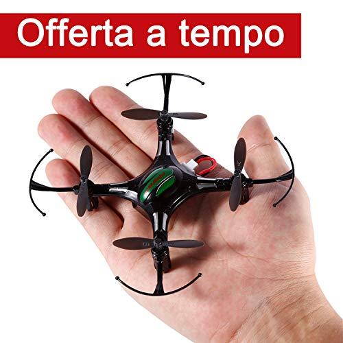 FPVRC K8 Mini RC Quadcopter Drone 2.4G 4CH 4 Aixs Modalità Senza Testa Telecomandati Quadricottero...