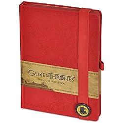 """Cuaderno de notas Premium Games of Thrones/Juego de Tronos """"Casa Lannister"""""""