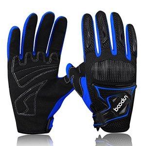 ARTOP Motorrad Handschuhe, Motorrad Cross Atmungsaktiver Handschuh mit Schutz PVC Shell Für Männer Frühling-Sommer-Herbst 2