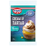 Dr Oetker Cream of Tartar Powder Sachets 6 X 5g