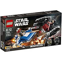 LEGO Star Wars A-Wing vs. TIE Silencer Microfighters 75196 Star Wars Spielzeug