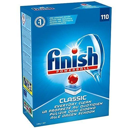 Finish Classic compresseper lavastoviglie -confezione da 110compresse