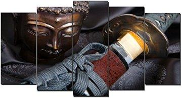 DEKOARTE - Cuadro Moderno Buda Zen 115 150x80cm 3