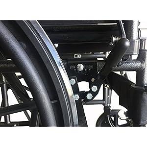 Silla de ruedas ligera de acero