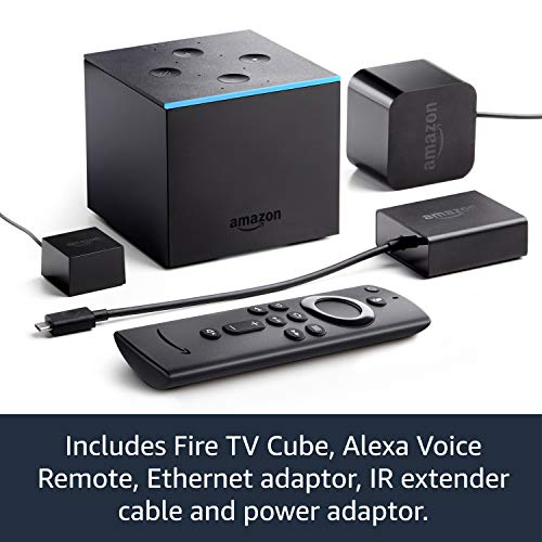 All-new Fire TV Cube | Hands free with Alexa, 4K Ultra HD streaming media player 4  All-new Fire TV Cube | Hands free with Alexa, 4K Ultra HD streaming media player 51c IRquD3L