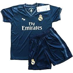 Kit - Personalizable - Segunda Equipación Replica Original Real Madrid 2018/2019 (8 años)