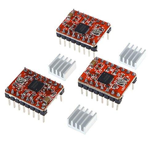 DescrizioneA4988è un driver di motore di microstepping completo, con convertitore incorporato, facile da eseguire. Il prodotto è disponibile in sua totalidad, la metà, 1/4.1/8e 1/16.Un regolatore di corrente tempo di spegnimento fisso. Il ...