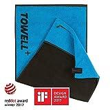 Towell Plus V2 in 7 Farben by STRYVE + Sporthandtuch mit Tasche und Magnetclip