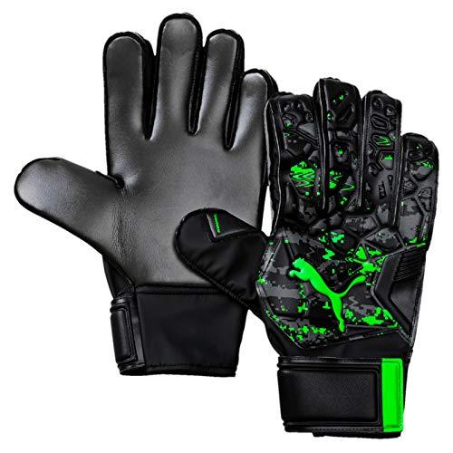 Puma Future Grip 19.4, Guanti Portiere Unisex-Adulto, Nero Black/Charcoal Gray/Green Gecko, 8