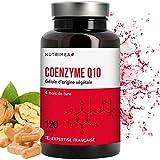 NUTRIMEA COENZYME Q10 NATURELLE - 120 Gélules Végétales à 100 mg - Puissant Anti-oxydant Protecteur Anti-âge et Energie Cellulaire