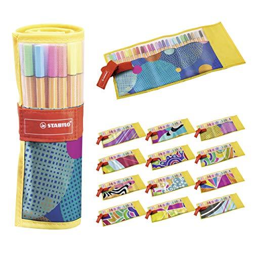 Fineliner - STABILO point 88 - Rollerset con 25 colori assortiti - Just like you Edition