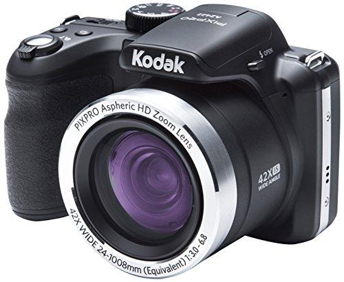 Kodak Astro Zoom AZ422 Bridge camera 20MP 1/2.3' CCD 5152 x 3864pixels Black - Digital Cameras (20...