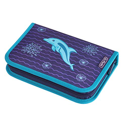 Herlitz Dolphin Astuccio 20 centimeters Blu (Blau)