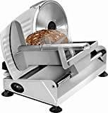 Edelstahl Allesschneider Multischneider Schneider Brot-Maschine (sparsame 150 Watt + Schnittstärke von 0-15 mm)