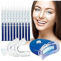 Gel Sbiancante per Denti,Teeth Whitening Kit,Sbiancamento Denti Denti Bianchi Professionale Pulizia Denti,per Pulizia e Sbiancamento dei Denti, Rimuove le Macchie