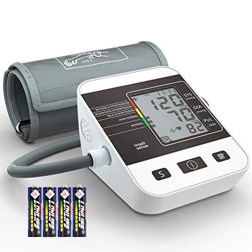 Misuratore di Pressione da Braccio Digitale,Annsky Sfigmomanometro Digitale Misurazione Automatic di...
