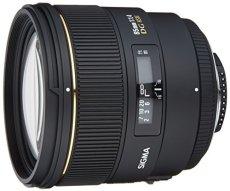 Sigma 85mm f/1.4 EX DG HSM NAF - Objetivo para Nikon (distancia focal fija 85mm, apertura f/1.4, diámetro: 77mm) color negro