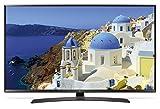 "LG 43UJ634V 43"" 4K Ultra HD Smart TV Wi-Fi Black LED TV - LED TVs (109.2 cm (43""), 3840 x 2160 pixels, LED, Smart TV, Wi-Fi, Black)"