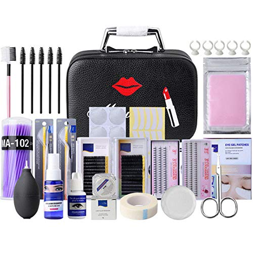 Kit Complet Exercice d' Extension de Cils Luckyfine- Niveau Luxe Édition Pratique Outil -Salon de Beauté, Outil de Maquillage -22pcs 23