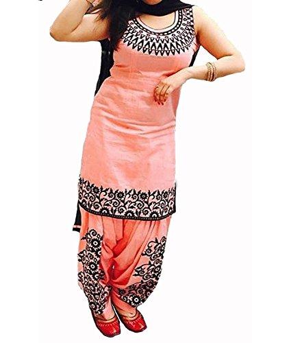 Vaankosh Fashion Peach Cotton Kurti for Women