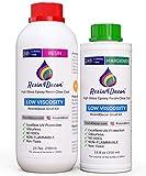 Resina epossidica Trasparente per creazioni Effetto Acqua UV Resin4Decor Art Resin, 1050 ml