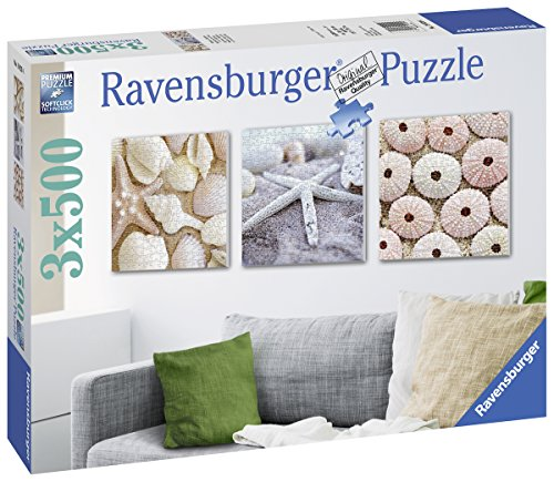 Ravensburger Italy Puzzle 3x500 Pezzi,, 19920