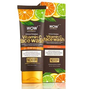 WOW Brightening Vitamin C Face Wash - No Parabens, Sulphate, Silicones & Color - 100mL Tube 19  WOW Brightening Vitamin C Face Wash – No Parabens, Sulphate, Silicones & Color – 100mL Tube 51dBoOQeTPL