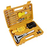 Fypo Orologi Strumenti/Guarda professionale kit Repair Tool, 16 PC Tool Set di riparazione della vigilanza sacchetto di nylon