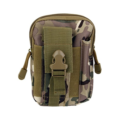 Imported Outdoor Tactical Waist Fanny Pack Bag Camping Hiking Wallet Pouch CP Color