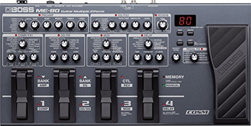 Boss ME-80 Multi-Effects Pedal