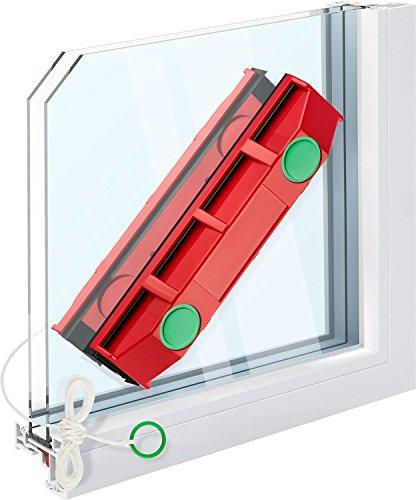 The Glider D-3 - Limpiador de ventanas magnético, para ventanas de doble acristalamiento de hasta 28 mm de grosor