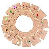 Biglietto di Auguri, Meersee 13pcs Biglietti di Auguri Vuoti con Buste Buste Cartoncini Augurali con Busta per Diverse Occasioni Auguri di Matrimonio, Compleanno, Inviti Lettera, Natale