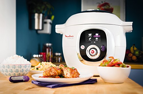 Moulinex CE7021 Cookeo Multicuiseur Intelligent USB Blanc 6 L