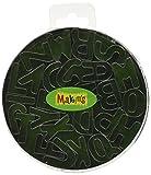Argile de Makin USA Métal Emporte-Pièces Alphabet 26kg