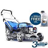 Hyundai HYM460SP 4-stroke Petrol Lawn Mower Cutting Width 18' / 46cm 139 Cc Self Propelled