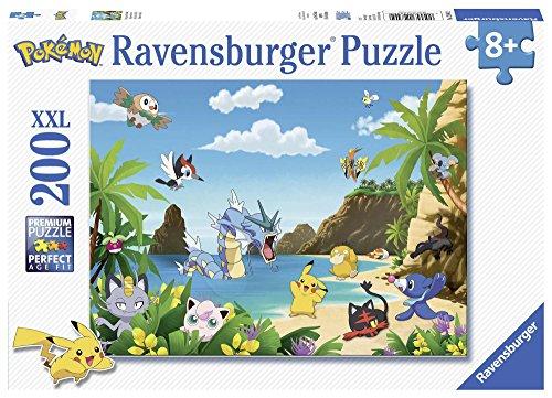 Ravensburger Italy- Puzzle Pokemon, 200 Pezzi, 12840
