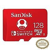 Carte microSDXC SanDisk 128Go pour Nintendo Switch