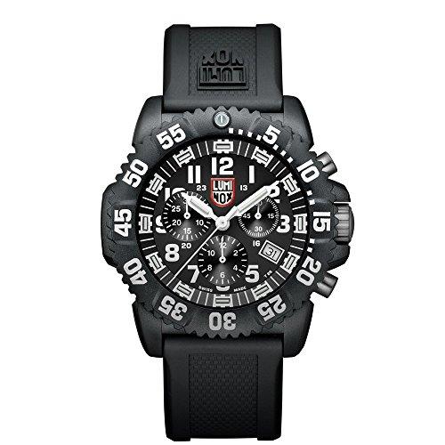Luminox Navy SEAL Colormark Herren-Armbanduhr Chronograph Quarz Plastik - XS.3081