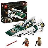 LEGO-Star WarsTM A-Wing StarfighterTM de la Résistance Jouet Enfant à Partir de 7 ans, 269 Pièces à Construire 75248