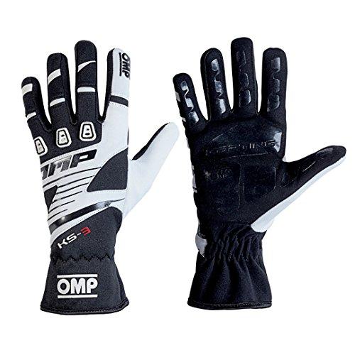 OMP ompkk02743e076m KS-3Guanti my2018Nero/Bianco SZ M